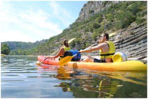 canoe kayak dans le var