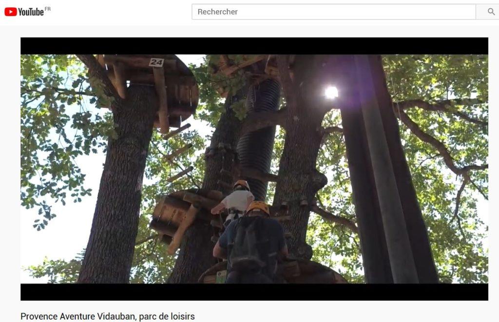 vidéo provence aventure à vidauban